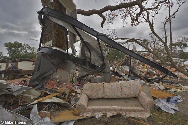 Tornado Damage Stock Photos Florida Tornado Outbreak