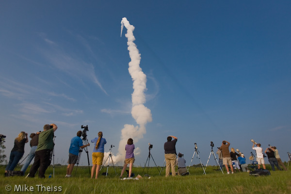 space shuttle launch. 2010 Space Shuttle lift off,