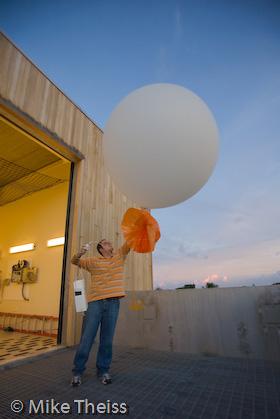 Weather Balloon Radiosonde Stock Photos NWS National Weather