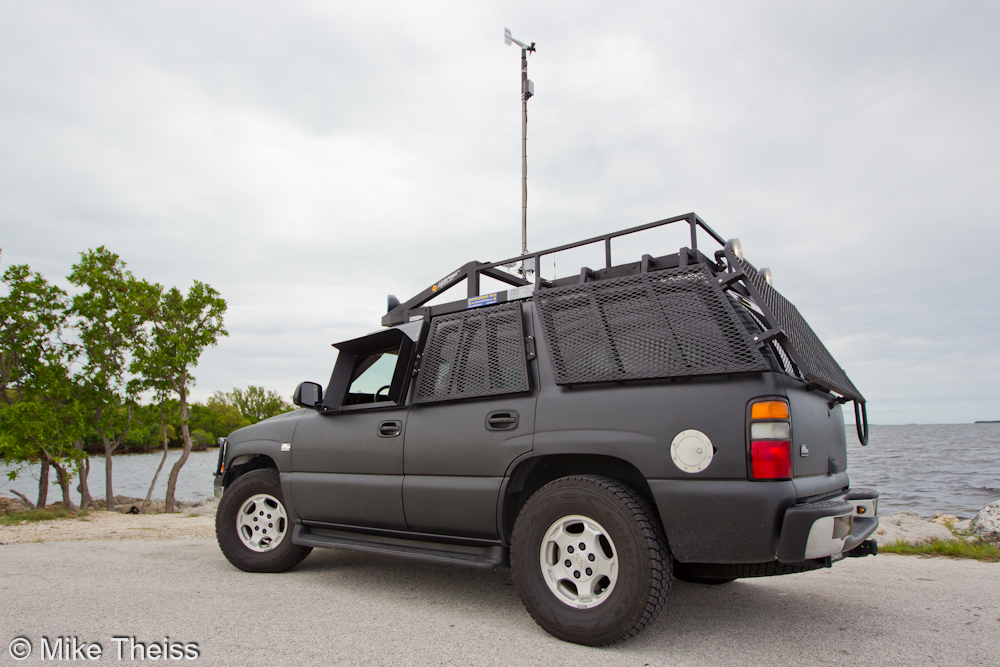 hurricane eyewall research vehicle herv by mike theiss 2